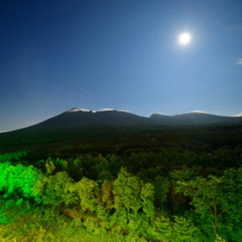 岩手山(夜)