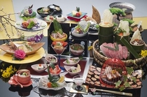 旬の和会席料理(一例)