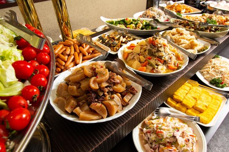◇朝食◇栄養バランスを考慮した和食中心のバイキングスタイル♪