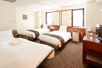 ◆トリプルルーム◆23.0㎡~27.0㎡ 1ベッドはエキストラベッド