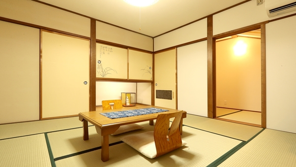 【蘭の間(禁煙)】星を眺める屋根裏部屋でゆっくり 8畳+4畳