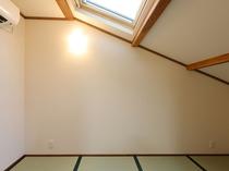 【蘭の間】天窓から星の見えるおこもり部屋(和室4畳)