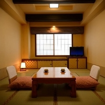 【スタンダード和室・10畳】の一例。昔懐かしい造りのタイプ