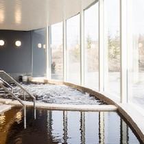 水着で楽しむモール温泉 ガーデンスパ十勝川温泉