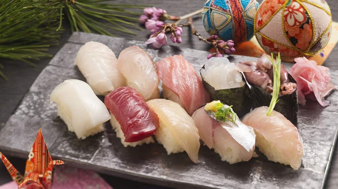 【寿司コース】(お昼のご利用)