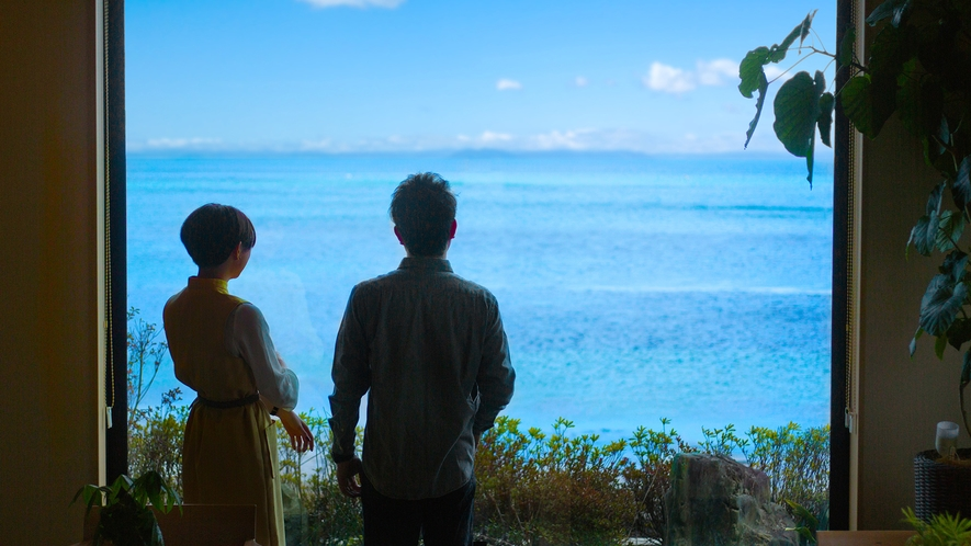 ただ海を眺めて過ごす――贅沢で心安らぐひととき