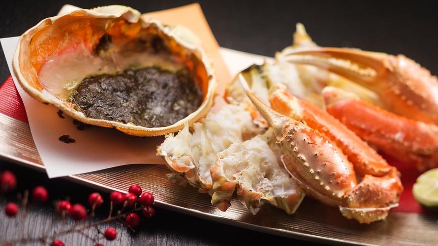 氷見の冬といえば【ズワイガニ】!!カニ味噌をたっぷりつけて肉厚の身を召し上がれ♪