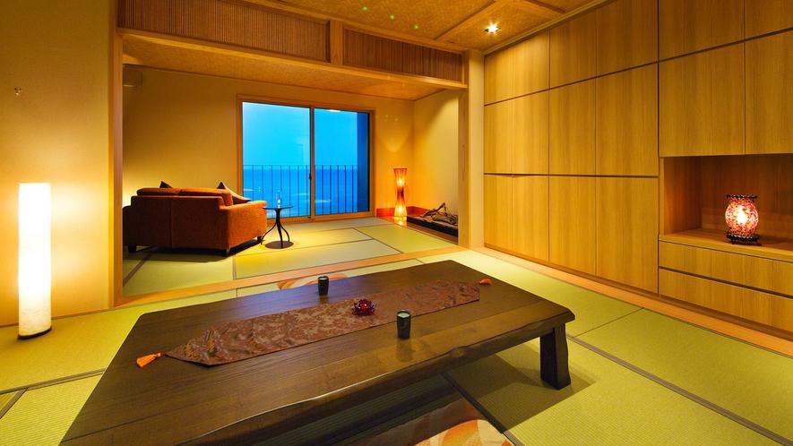 """■デザイナーズ特別室■ 晴れた日には""""ここでしか見られない""""富山湾越しの立山連峰が♪"""