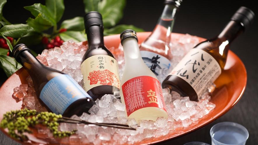 """""""水の都""""富山は全国有数の酒どころ。美味しい【地酒】取り揃えてます!"""