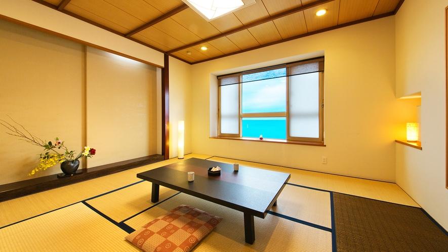 【本館和室10畳】<海側客室> ~朝日差し込むスタンダード客室~