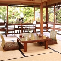 竹の間 角部屋