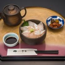 胡麻カンパチの茶漬け定食※イメージ