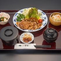 生姜焼き定食※イメージ