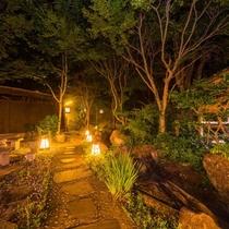 露天風呂 庭園(男湯)
