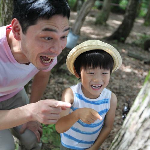 【夏イベント・かぶと虫採集】