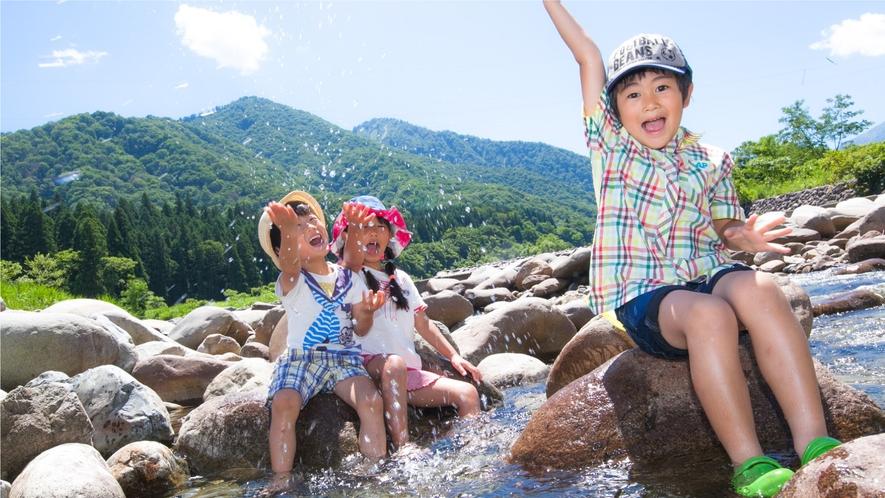 【夏イベント・川遊び】