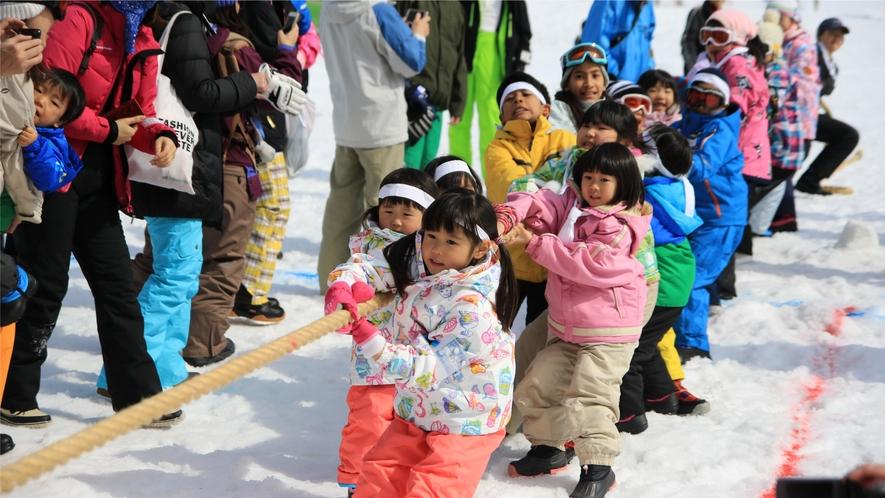 【冬イベント・雪上運動会】