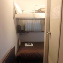 ☆ツインルーム一例☆ベッドは2段ベットとなります。