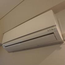 ☆エアコン☆各部屋個別空調のエアコン。全室完備