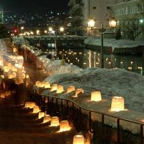 小樽雪灯りの路