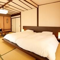 低層階 和室ツインベッド (2階)