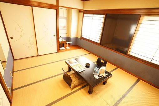 和室(10畳)(喫煙/32型液晶・無料Wi-Fi)