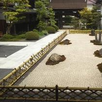 当院の石庭(重森三玲作)