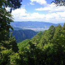 高野山からの景色