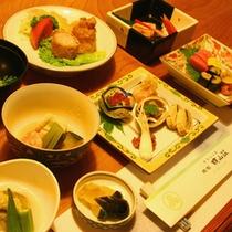 *京風会席料理(夕食一例)
