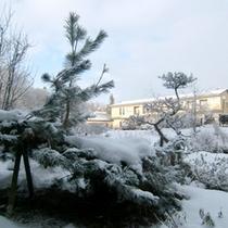 *外観(冬)