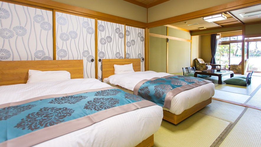 【特別室】15畳◆庭園付和洋室◆