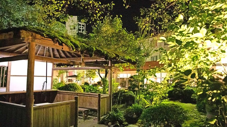庭園より 夜