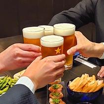 ビジネスや旅の疲れを美味しいお食事とお酒で癒してください