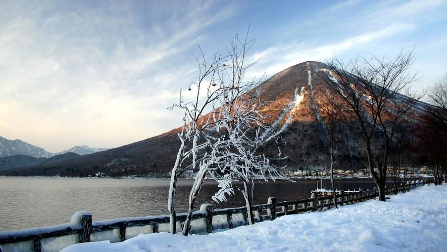 男体山(冬)