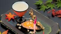 秋料理:【焼物】秋味豊年焼