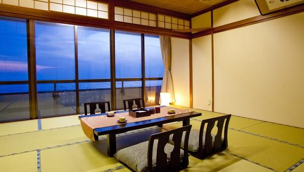 日本海の温泉宿 本館和室【部屋食】