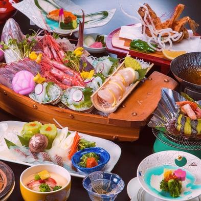 【鯛×舟盛】 縁起のいい、美味しい組合せ♪ ★ お祝い事にも♪ 『越前浜の風、宴』