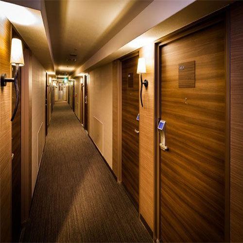 客室廊下♪こちらからお部屋へどうぞ