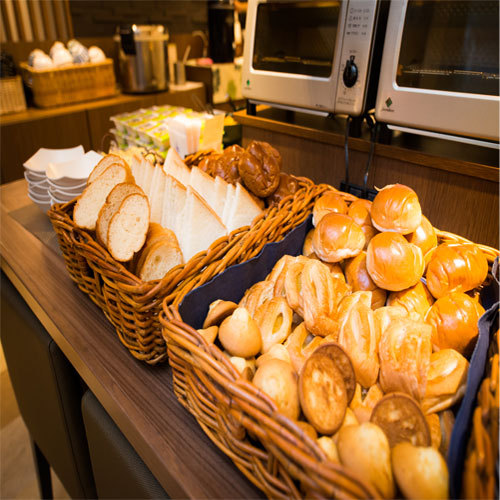 朝食【パン】洋食派の方にもご用意