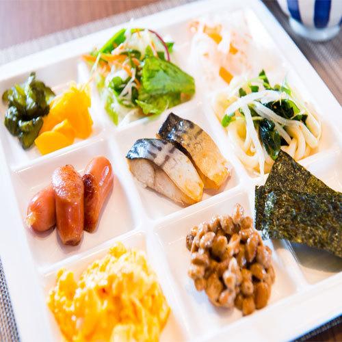 健康朝食♪の盛り付け例です★