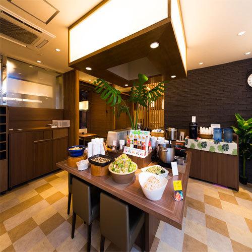 朝食会場【1F旅彩】お好きなものをお召し上がりください