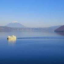 ◆洞爺湖遊覧船/船から洞爺湖を楽しみましょう!