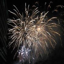 ◆洞爺湖温泉冬まつりの花火