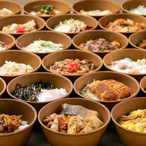 【花吹雪】朝食/「朝のどんぶりご飯」