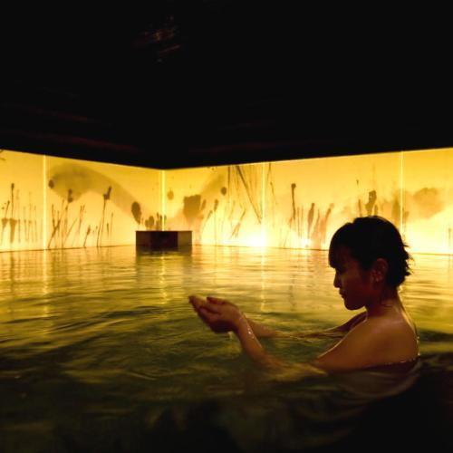 【癒しの湯 桂月】2階 瞑想の湯