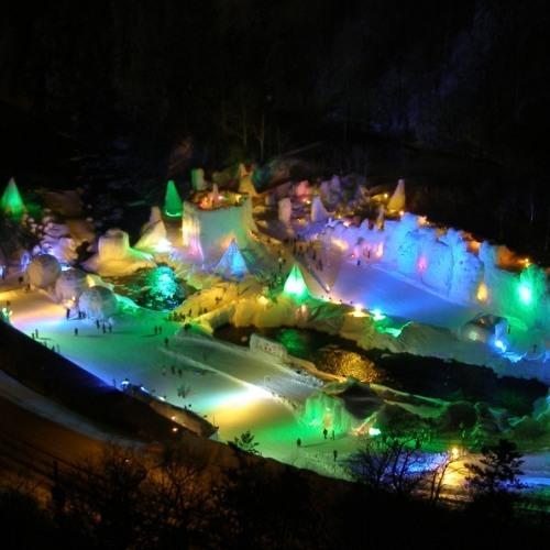 冬の祭典「氷瀑まつり」