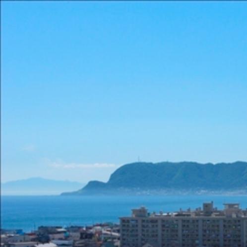 ■山側客室からの眺望(昼)