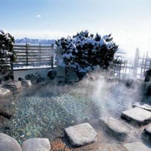 ■冬の空中露天風呂〜いさりび〜