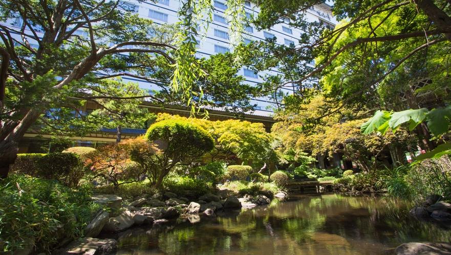 池庭と庭園