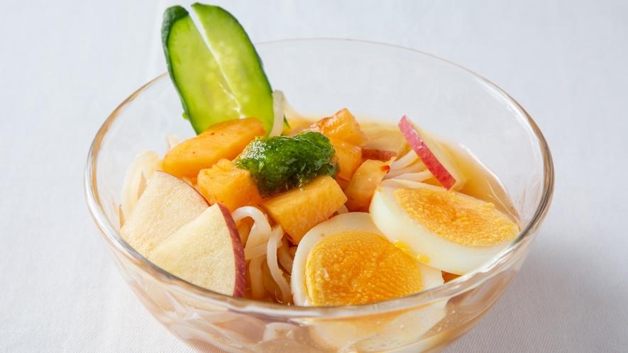 【夕食バイキング】函館冷麺〜菜の花ジュレで〜